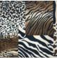 Printed Fleece Fabric Animal Prints