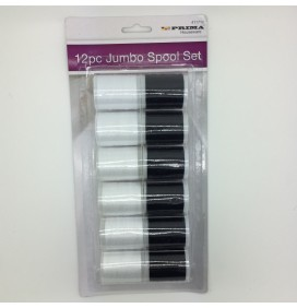 12 piece Jumbo Thread/Spool Set
