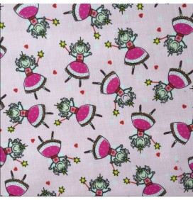 Polycotton Prints Fairy Design