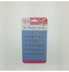 36 Press Studs