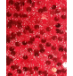 6mm Round Sequins Black Ground Red
